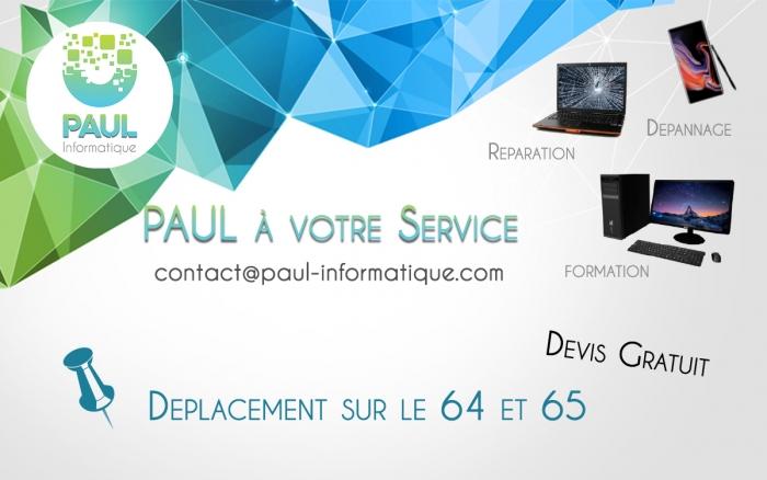 Bannière PAUL